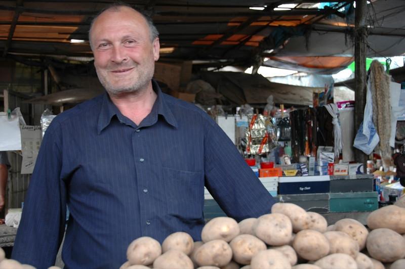 Potato Vendor - Kakheti, Georgia