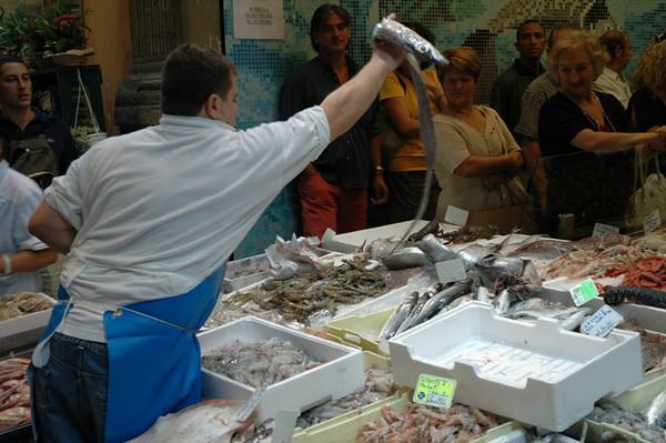 Eel Vendor - Bologna, Italy