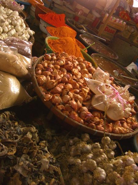 Shallots, Garlic, Chillies and Fish Sauce - Luang Prabang, Laos