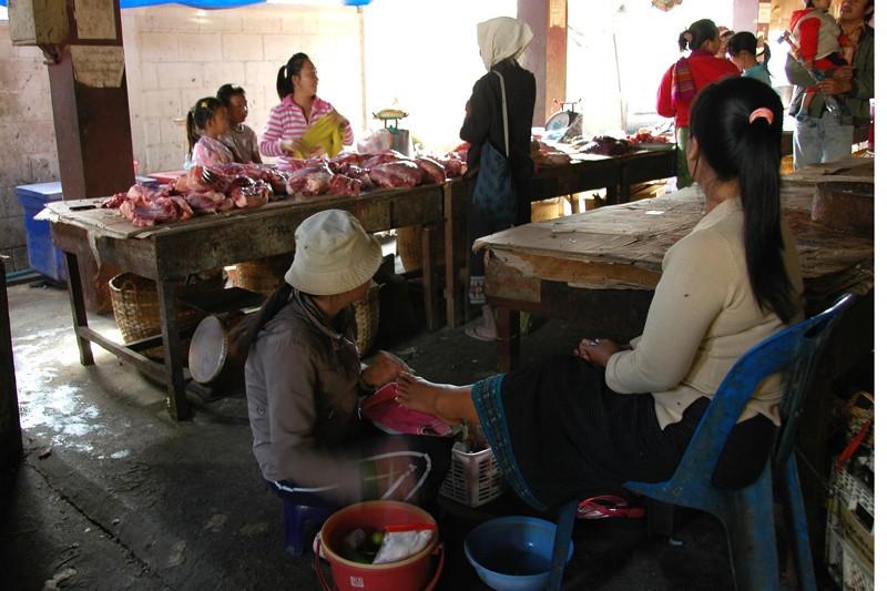 Phousy Market - Luang Prabang, Laos