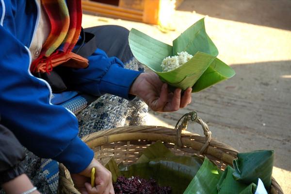Sticky Rice  - Luang Prabang, Laos