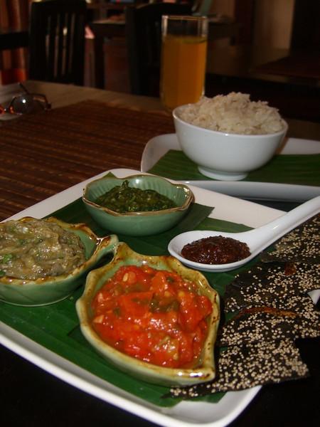 Variety of Dips - Luang Prabang, Laos