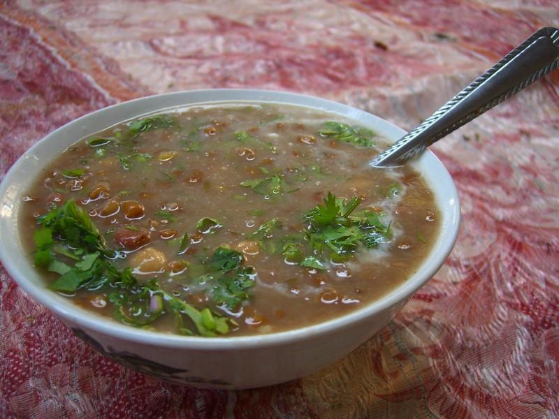 Gandush Kuga (Bean Soup) - Dushanbe, Tajikistan