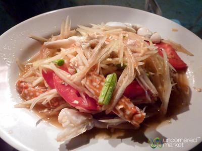 Spicy Papaya Salad with Crab - Koh Samui, Thailand