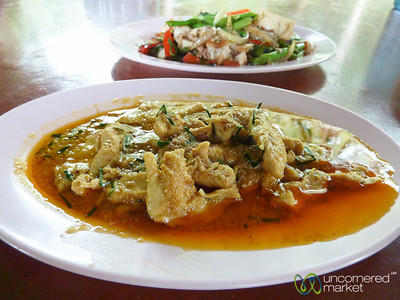 Penang Curry at Haad Yao Beach - Thailand