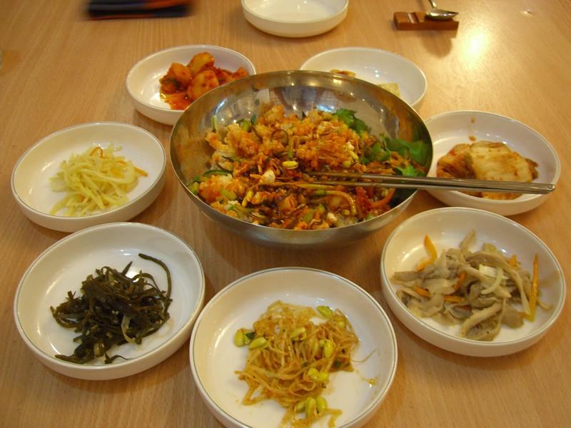 Korean Food (Bibimbap) - Tashkent, Uzbekistan