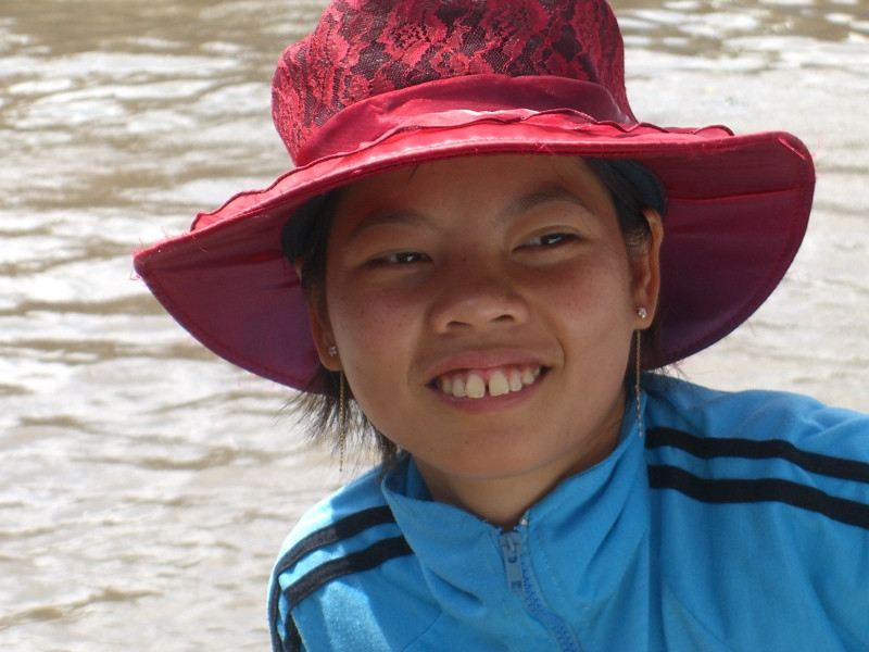 Smiling Woman - Mekong Delta, Vietnam