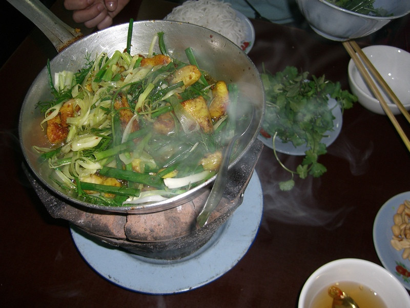 Hanoi Fish with Tumeric and Dill - Hanoi, Vietnam