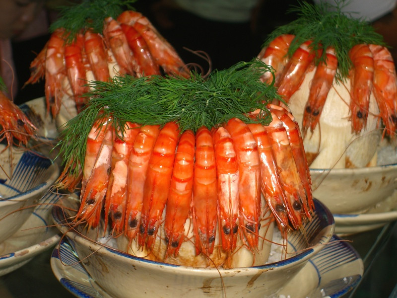Shrimps - Ho Chi Minh City, Vietnam
