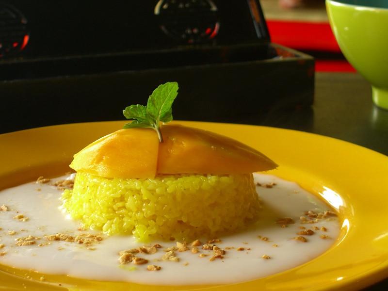 Mango and Sticky Rice - Hoi An, Vietnam