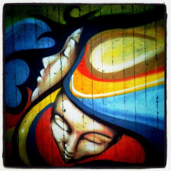 Love street art in #Berlin.