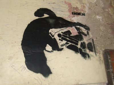 Dog Graffiti - Czech Republic