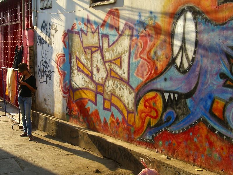 Graffiti Central - Phnom Penh, Cambodia