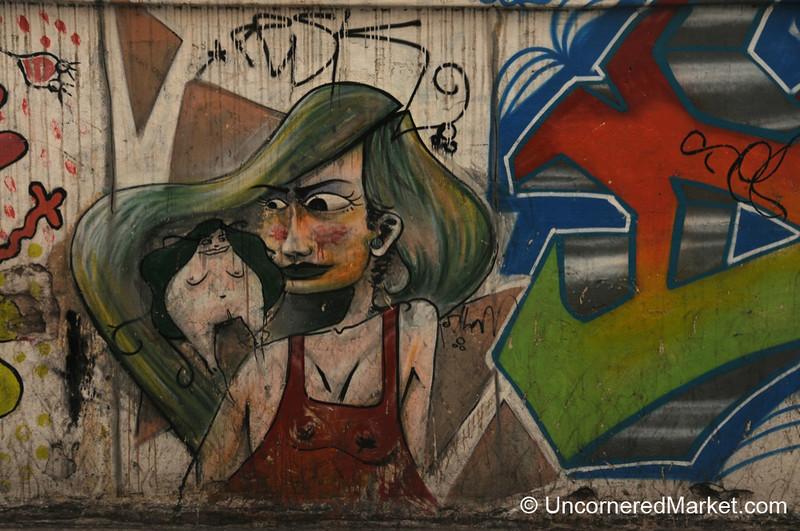 Graffiti on the Streets of Cordoba, Argentina