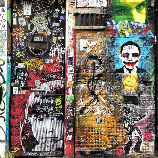 Favorite doorway #11, Amsterdam #graffiti #streetart