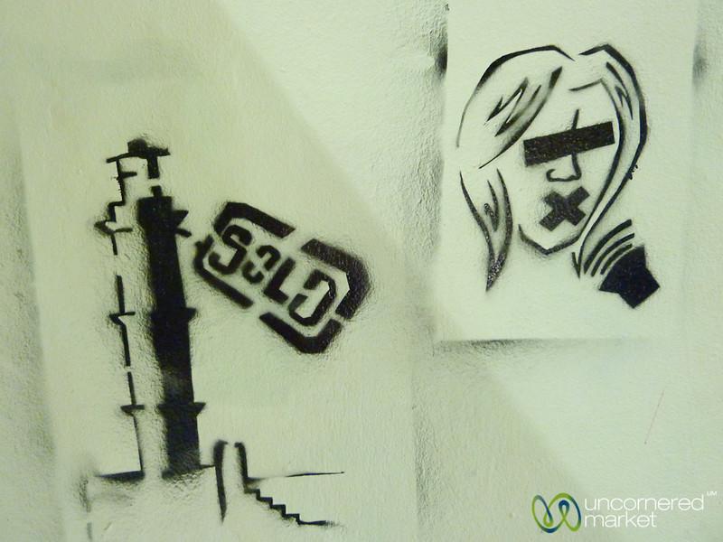 Cretan Graffiti - Chania, Crete