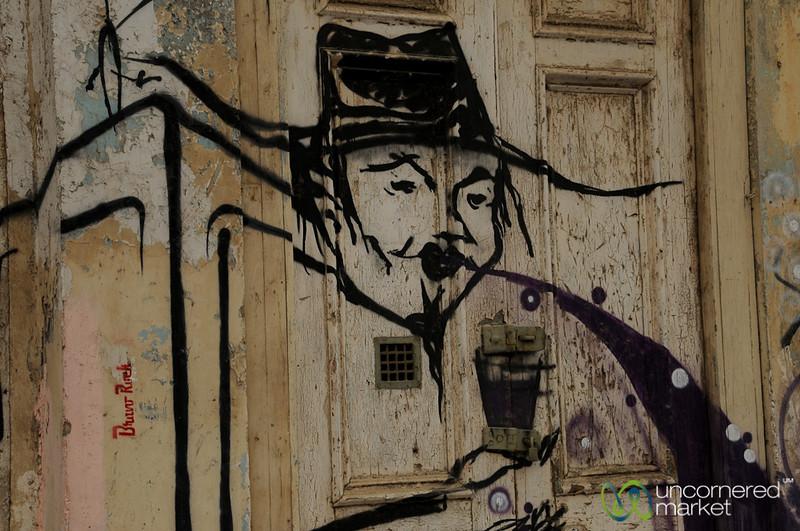 Valparaiso Art Graffiti - Chile