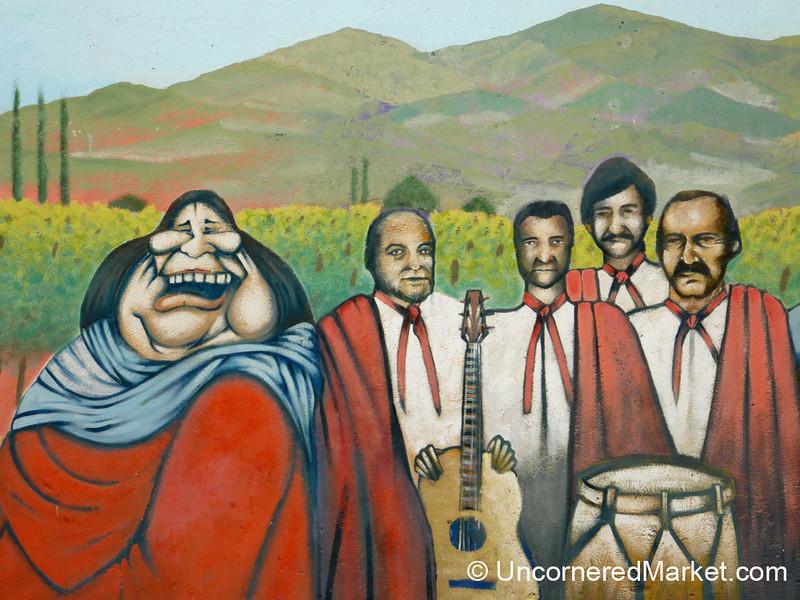 Musical Graffiti - Cafayate, Argentina