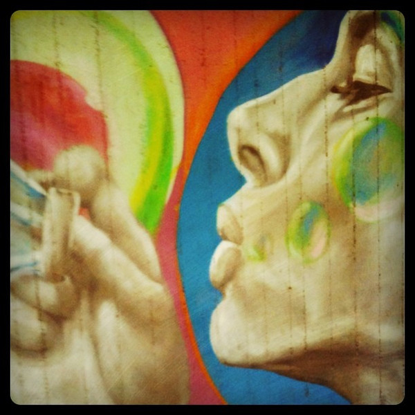 More fun #Berlin street art.