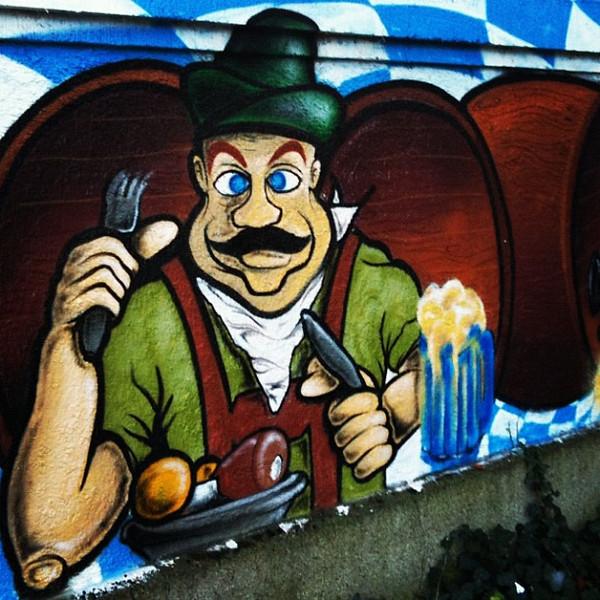 Bavarian graffiti, #Munich