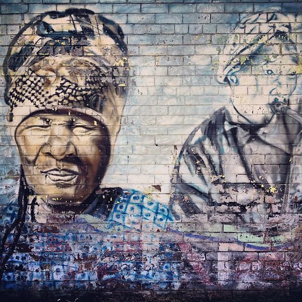 Johannesburg jazz wall, Newtown Cultural Precinct #streetart