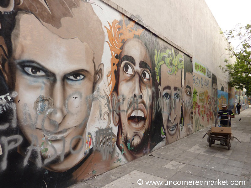 Faces on the Street - Buenos Aires, Argentina