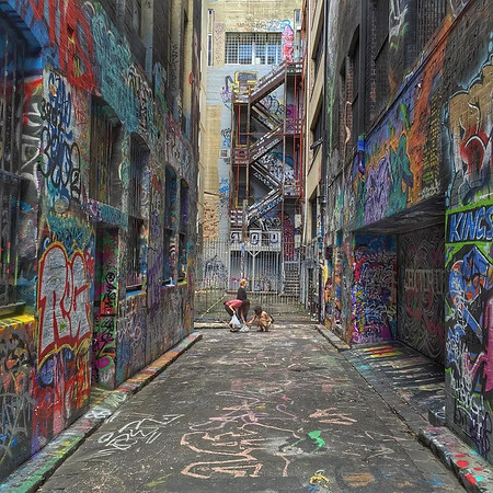 Street Art, Hosier Lane - Melbourne