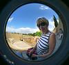 Through my fisheye lens.