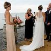 Andrea look great in her wedding gown...