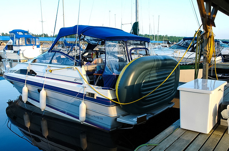 I fitted it out with just about every convenience, which made for comfortable cruising