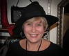 Liz - looking good trying on hats!