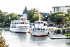 Gananoque has a number of daily tours to various locations in the Thousand Islands,  including the famous Boldt Castle.