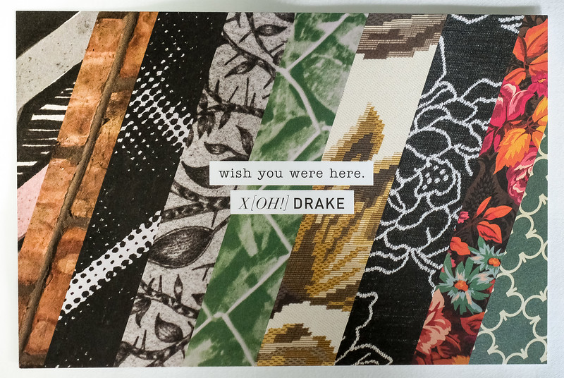 Welcome postcards from the Drake