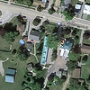 "Aerial view of complex - it also has several ""motel style"" rooms. A nice setting."