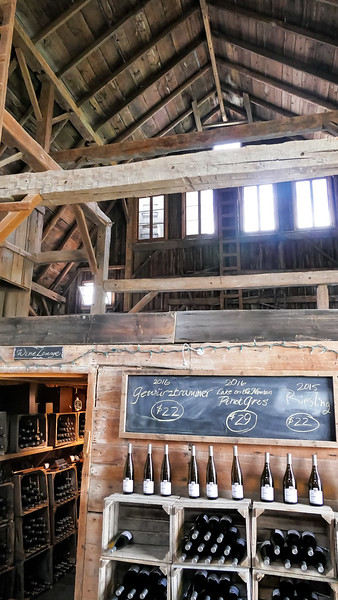 Portions of this barn were built in 1820!!! One of the most interesting barns on our tour.