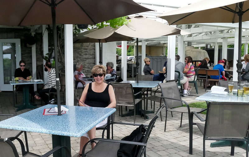 """We enjoyed a very pleasant lunch at the """"Country Cider Company"""" in Waupoos.  The Peach Cider was excellent."""