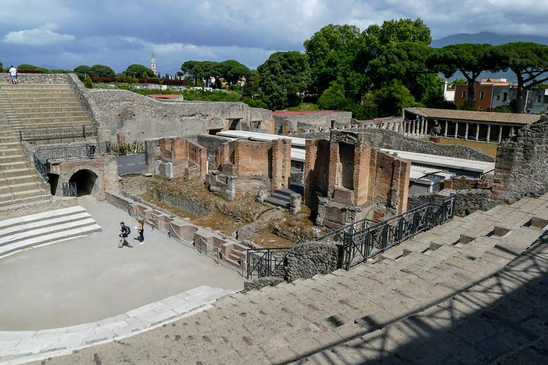 A small amphitheater.