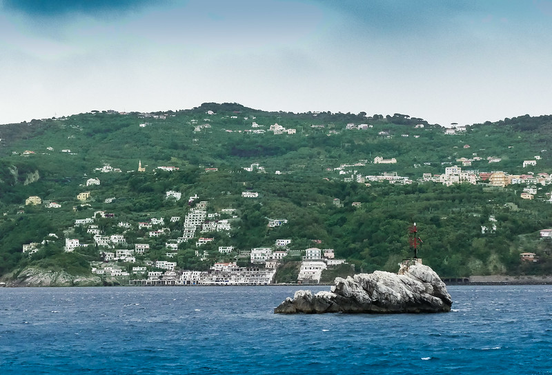 Capri is known for it's many beautiful homes - tucked away and VERY private!