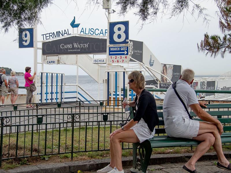 Loading Dock for Capri Boat tour