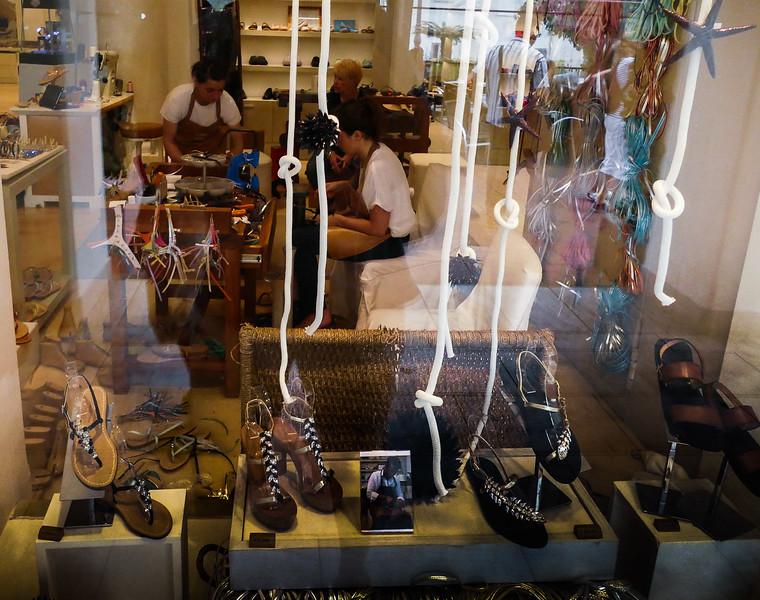 "World famous ""Capri"" sandals.  $150E  - $500E +"