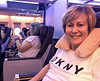 On Board - club class seats - very comfortable!