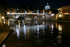 "Rome ""glows"" at night. (Reminiscent of Paris Bridges - the true City of Lights!)"