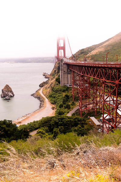 We drove from airport through San Francisco, over the Golden Gate Bridge and directly on to Napa. Our last 4 days will be spent in downtown San Francisco.