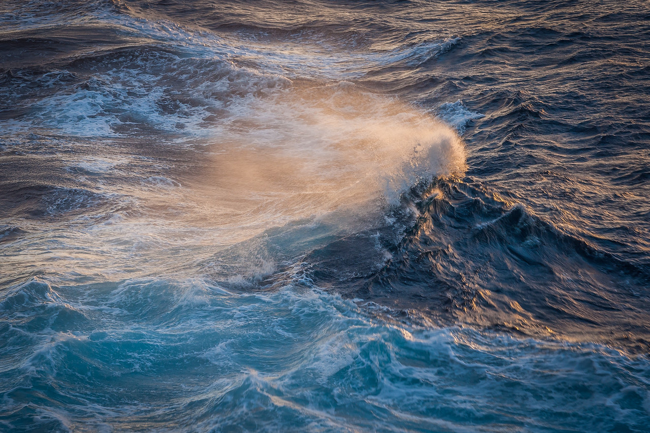 Rough Seas off the Coast of Maui
