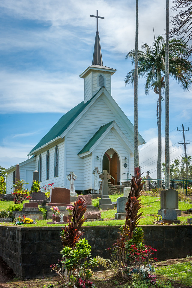 Hawaiian Church and Cemetry