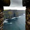 Moher through a Turret  - 2016 Christopher Buff, www.Aviationbuff.com