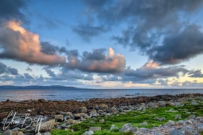 Connemara Sunset - 2016 Christopher Buff, www.Aviationbuff.com