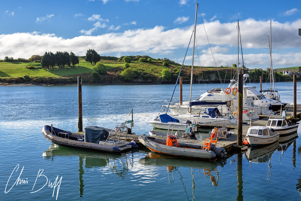 Kinsale Harbor in the morning - 2016 Christopher Buff, www.Aviationbuff.com