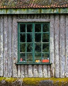 Boathouse Window - 2016 Christopher Buff, www.Aviationbuff.com