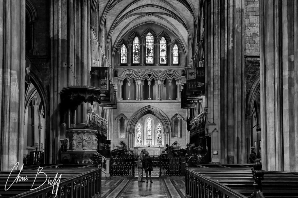 A Moment of Reflection at St. Patrick's Cathedral - 2016 Christopher Buff, www.Aviationbuff.com